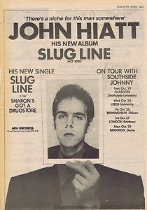 John Hiatt Slug Line